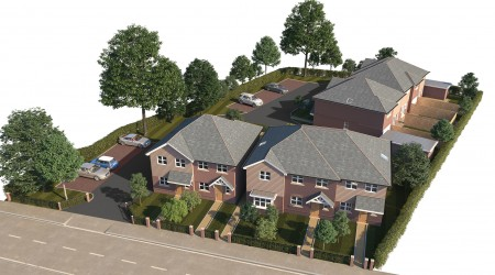 Crossways Aerial CGI